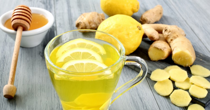 Honey, ginger & lemon tea feature image